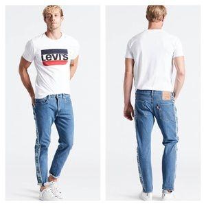 Levi's Hi-Ball Roll Logo Stripe Men's Jeans